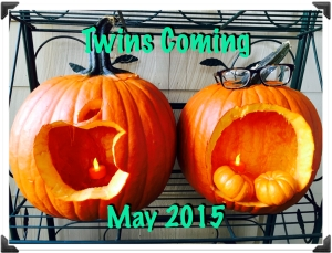 Twins pumpkins